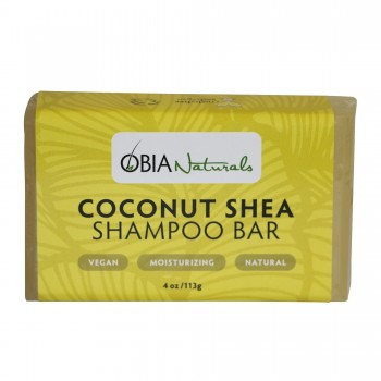 Coconut Shea Shampoo Bar - Shampoing solide - Obia 118 ml