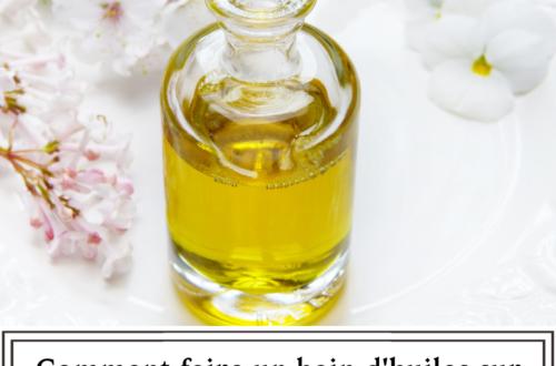 Comment faire un bain d'huiles sur cheveux crépus, bouclés et frisés ?