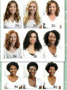 Définir les boucles de ses cheveux