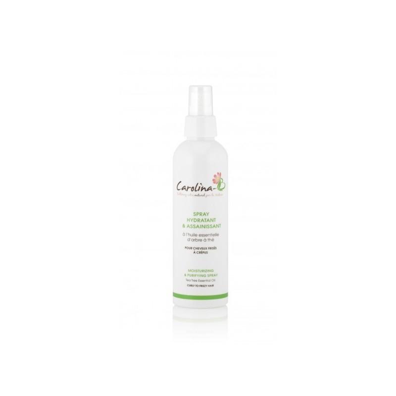 Grâce à l'action d'huiles végétales hydratantes telles que l'amande douce, le Jojoba et le Yangu combiné à de la protéine de blé qui renforce les cheveux, le SPRAY HYDRATANT ET DÉMÊLANT CAROLINA-B est un soin bi-phase qui facilite le démêlage et le coiffage des cheveux de vos enfants tout en laissant leurs cheveux doux, brillants et légers.