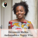Malika ambassadrice de Nappy N'ko