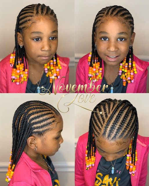 Idée de fulani braids pour enfants pour les fêtes de fin d'année