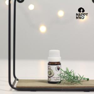 Huile essentielle d'Ylang Ylang 100 naturelle de Nappy N'ko pour prendre soin des cheveux crépus, frisés, ondulés et bouclés