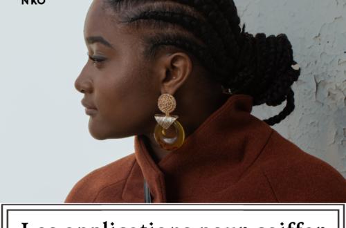 zoom sur les applications pour coiffer les cheveux afros