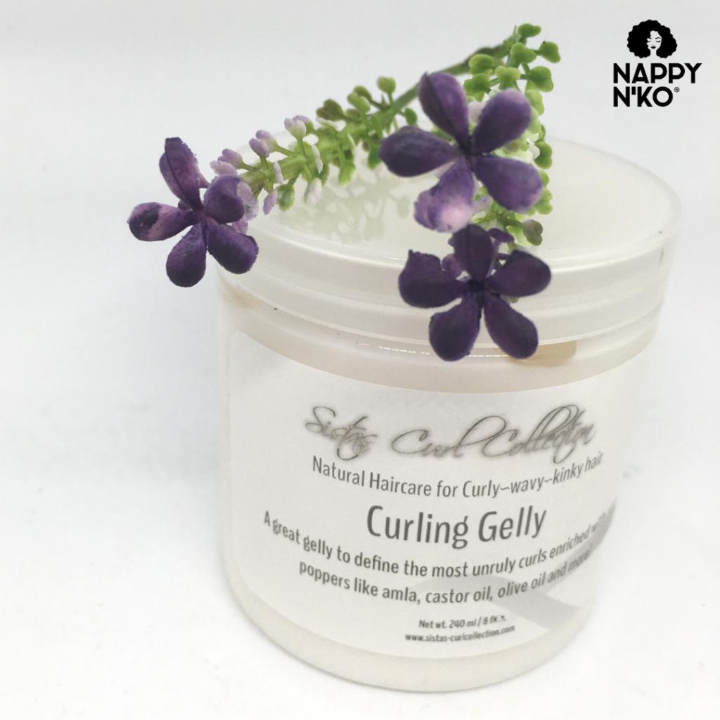 Curling Gelly - Sistas Curl pour cheveux crépus, bouclés et frisés