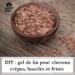 DIY : Gel de lin pour cheveux crépus, bouclés et frisés