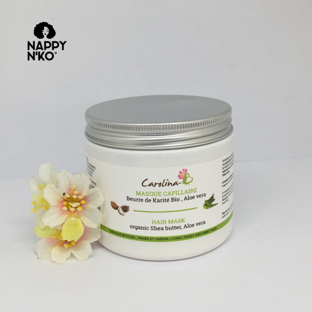 Masque capillaire - Carolina B cheveux crépus hiver