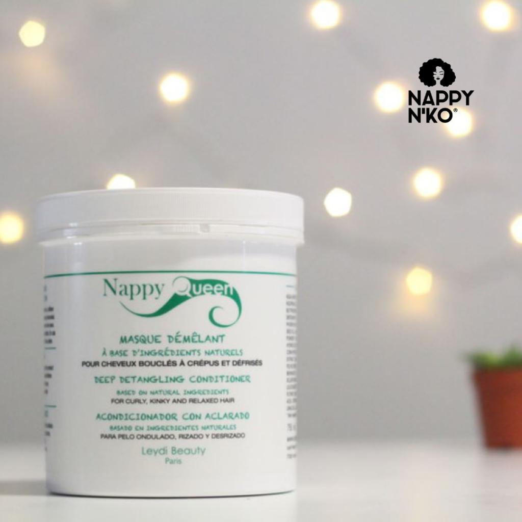 Masque démêlant (protéiné) - Nappy Queen cheveux crépus hiver