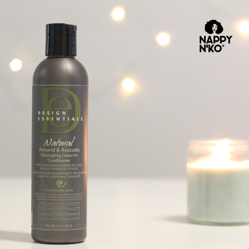 Leave-in hydratant et démêlant - Design Essentials noeuds cheveux crépus