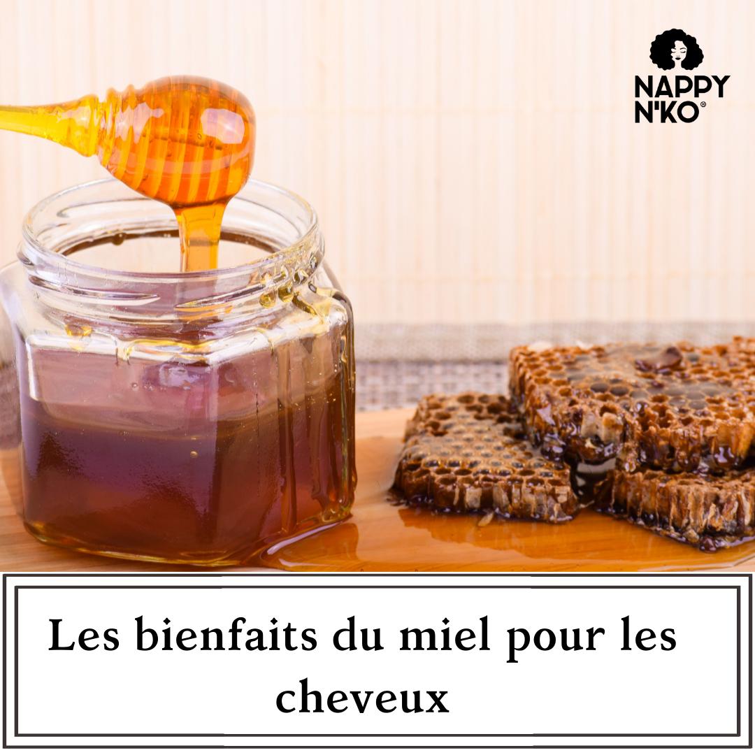 Les bienfaits du miel pour les cheveux crépus, bouclés ou frisés