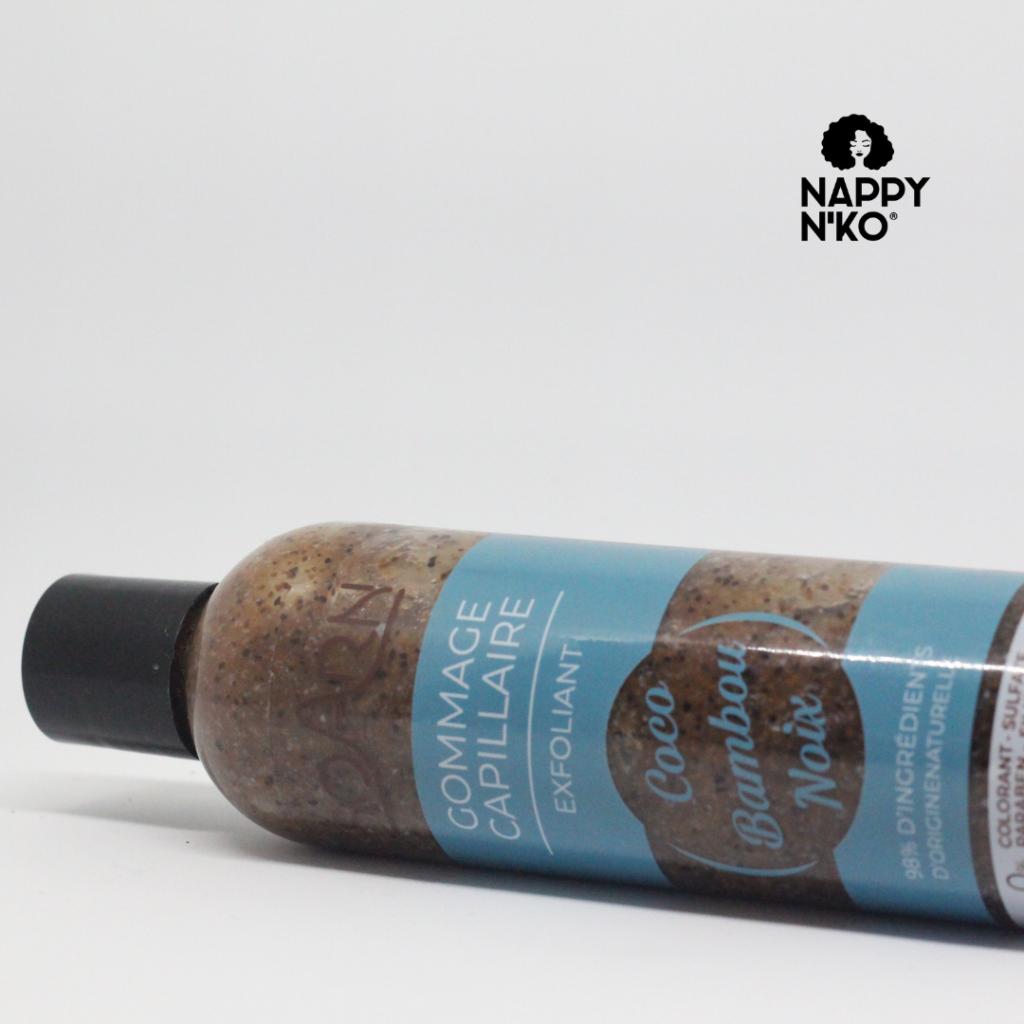 Gommage capillaire - Soarn routine capillaire printemps cheveux crépus
