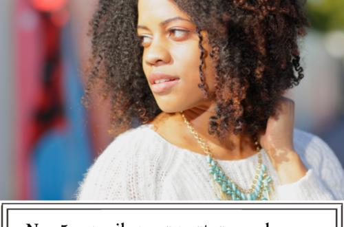 Nos 5 conseils pour porter ses cheveux crépus lâchés en toute sérénité